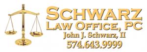 Schwarz Law Office, PC, John J. Schwarz, (574) 643-9999